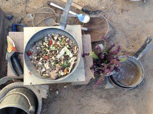 compost stir fry