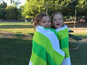 towel girls