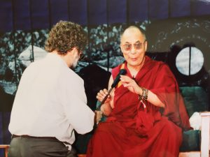 Bill with HHDL